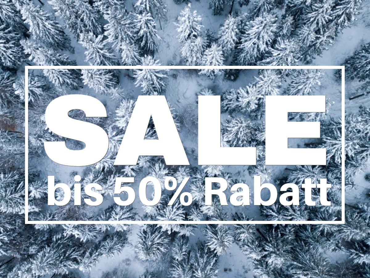 Feine Wäsche Winter-Sale 50% Rabatt